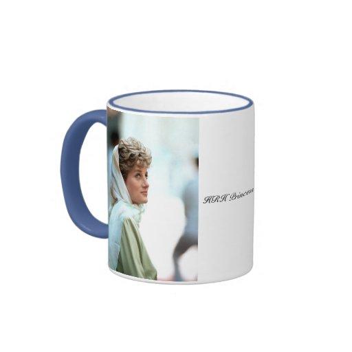 Princesse Diana Egypte 1992 de HRH Tasse À Café