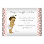 Princesse Diaper Raffle Ticket de pêche
