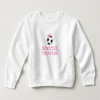 Princesse du football sweatshirt