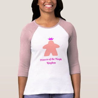 Princesse du royaume de Meeple T-shirt