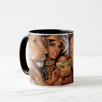 Princesse égyptienne Mug de déesse de lion