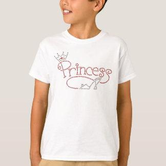 Princesse fascinante Crown et chaussure de talon T-shirt