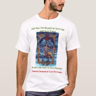 Princesse-Héritage de guerrier de MacKinnon de T-shirt