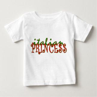 Princesse italienne t-shirt pour bébé