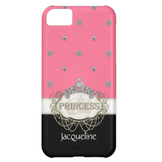 Princesse Jewel Bling Crown Personalized d'Iphone Coque iPhone 5C