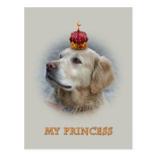 Princesse Luna de colline de moulin à vent - carte Cartes Postales