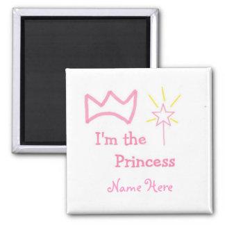 Princesse Magnet Carré
