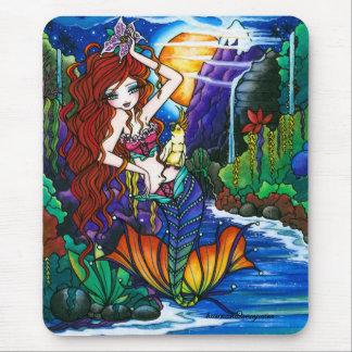 Princesse Mermaid Cockatoo Fairy de Maui Tapis De Souris