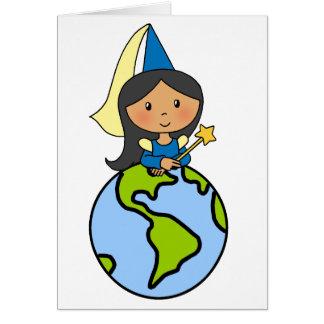 Princesse mignonne de clipart (images graphiques) cartes de vœux