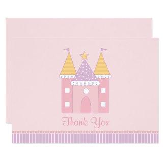 Princesse plate Castle de la carte de note de Carton D'invitation 8,89 Cm X 12,70 Cm