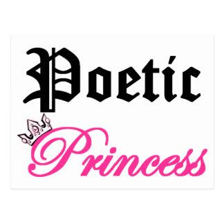 Princesse poétique carte postale