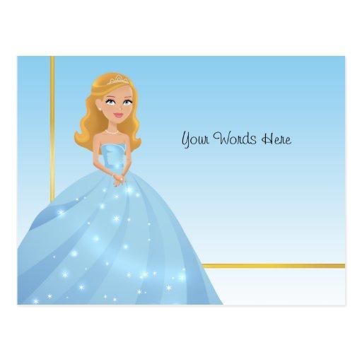 Princesse Postcard Carte Postale