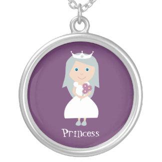 Princesse pourpre assez personnalisable pendentifs personnalisés