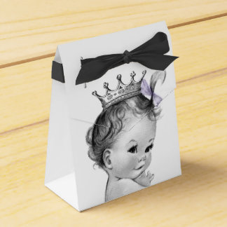 Princesse pourpre baby shower boites faveurs de mariage