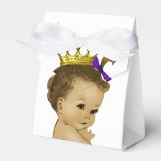 Princesse pourpre Ethnic princesse baby shower Boites De Faveur