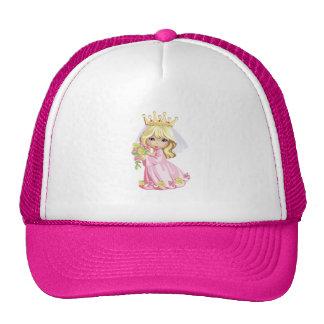 Princesse rose casquette