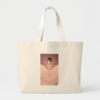 Princesse rose de perle grand tote bag