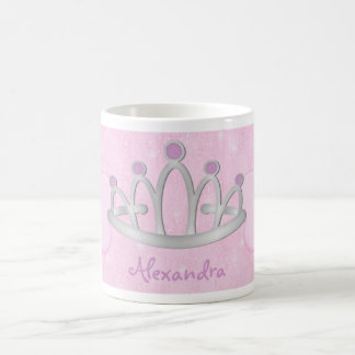 Princesse rose personnalisée Mug de l enfant