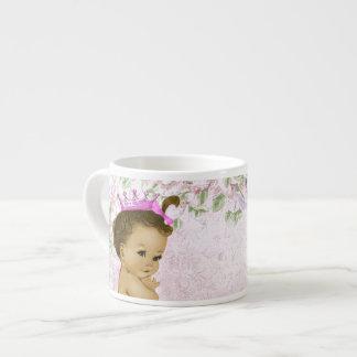Princesse rose vintage Baby Cups Tasse Expresso