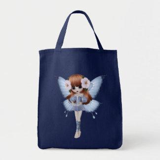 Princesse rouge Butterfly Navy Bag de cheveux Sac Fourre-tout