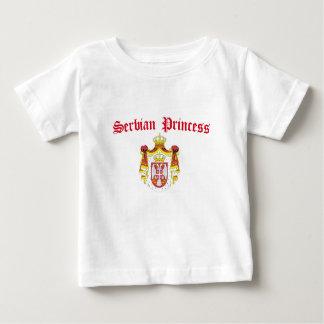 Princesse serbe (avec le manteau de la Serbie des T-shirt
