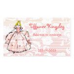 Princesse télécarte carte de visite