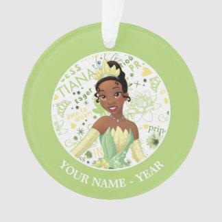 Princesse Tiana   Tiana ajoutent votre nom