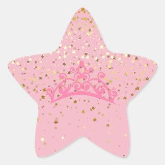 Princesse Tiara et autocollants d'étoiles