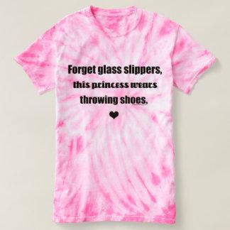 Princesse tir mis, pièce en t de lanceur de disque t-shirt