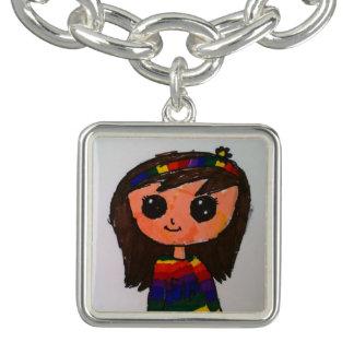 Princesse Toytastic Charm Bracelet, argentent Bracelets