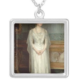 Princesse Victoria Eugenie, reine de l'Espagne Pendentif Carré