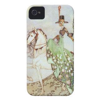 Princesse vintage Riding de conte de fées un Coque iPhone 4 Case-Mate