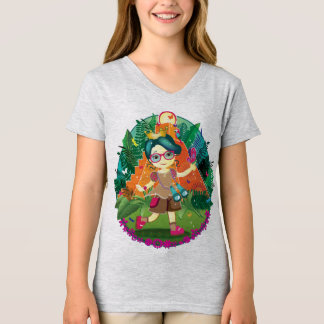 Princesse Youth V-Cou d'aventure T-shirt