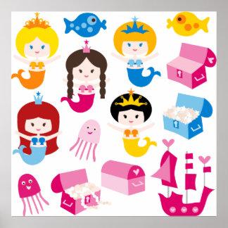 PrincessMermaid2 Posters