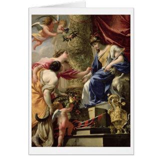 Principales paix de prudence et abondance, c.1645 cartes