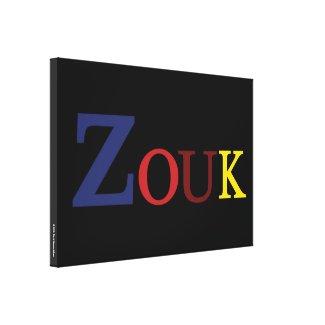 ✅Toile imprimée : ZOUK