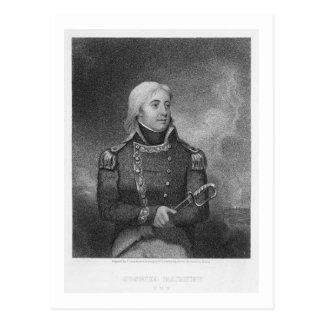 Prise de bec de Joshua (1759-1818), gravée par J. Carte Postale