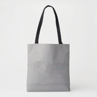 Prismatic World carte Tote Bag
