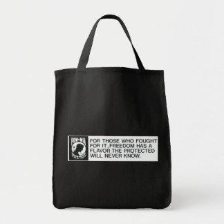 Prisonniers de guerre, porté disparu sac en toile épicerie