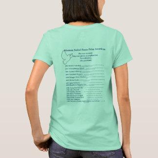 Prix de paix Nobel de femmes, Nevetheless elle a T-shirt