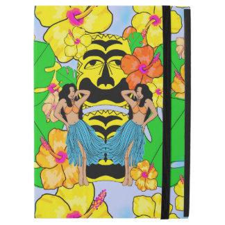 "Pro 12,9"" cas de rétro de tiki iPad tropical de iPad Pro 12.9"" Case"