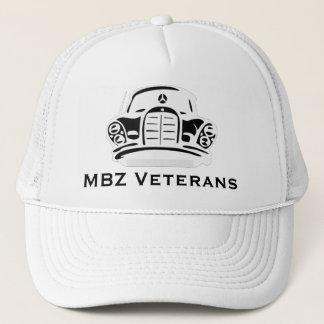 Pro blanc de casquette de vétérans de MBZ