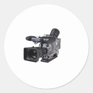pro caméra vidéo adhésif rond