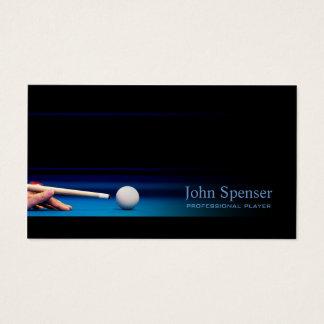 Pro carte noire simple de joueur/entraîneur de