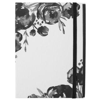 Pro cas d'iPad floral déprimé d'aquarelle