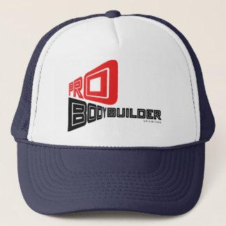 Pro casquette bleu-foncé de culturiste