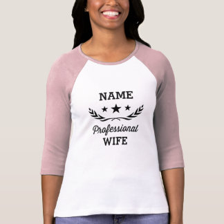 Pro conception graphique de l'épouse   t-shirt