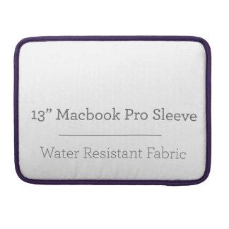 Pro douille de la coutume 13in Macbook Housse Pour Macbook