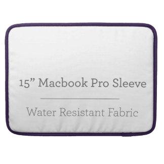 Pro douille de la coutume 15in Macbook Housse Pour Macbook