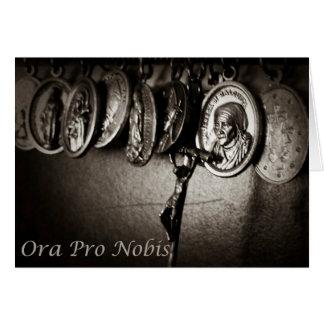 Pro Nobis carte de note d'Ora 9